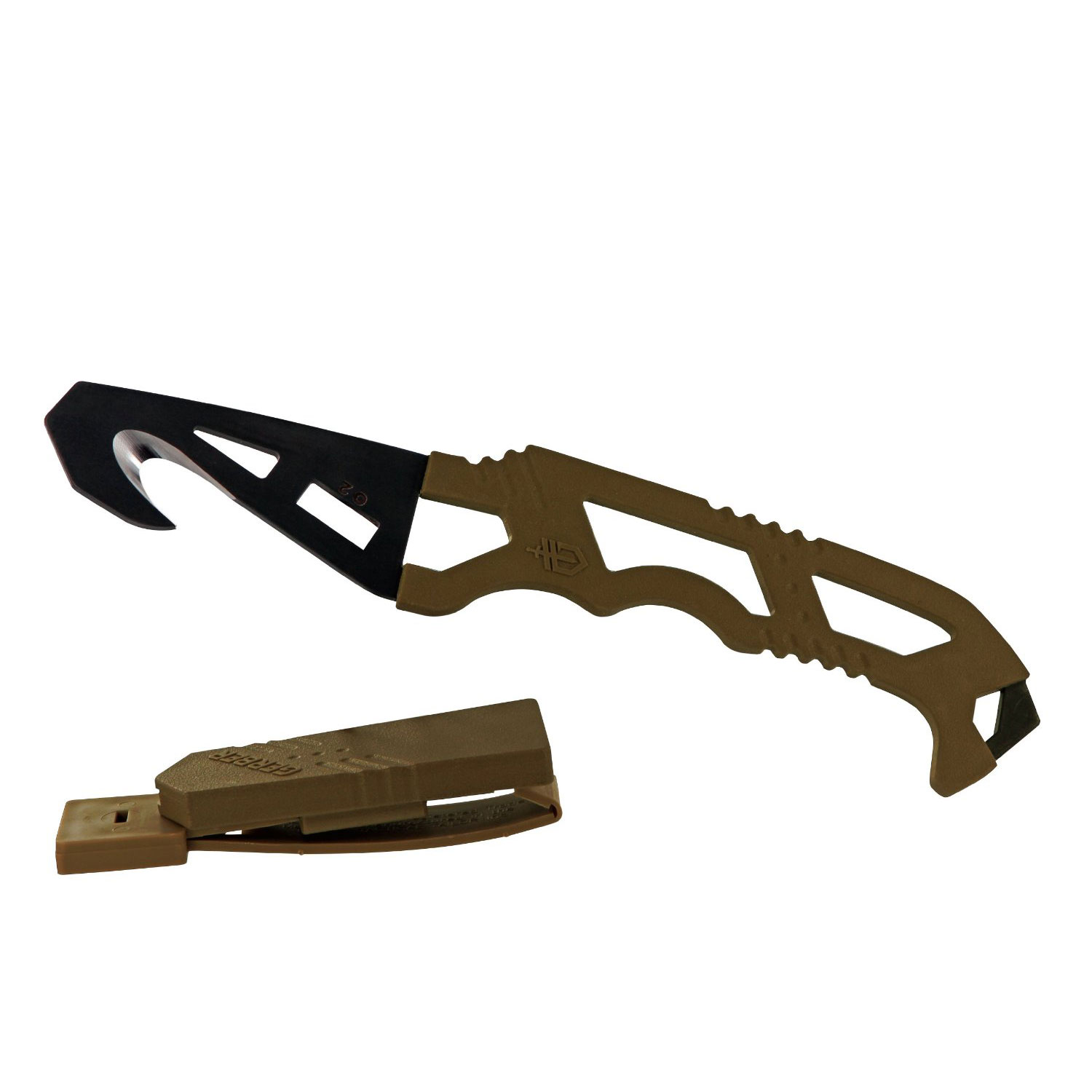 Ніж Gerber Crisis Hook Knife TAN499 блістер
